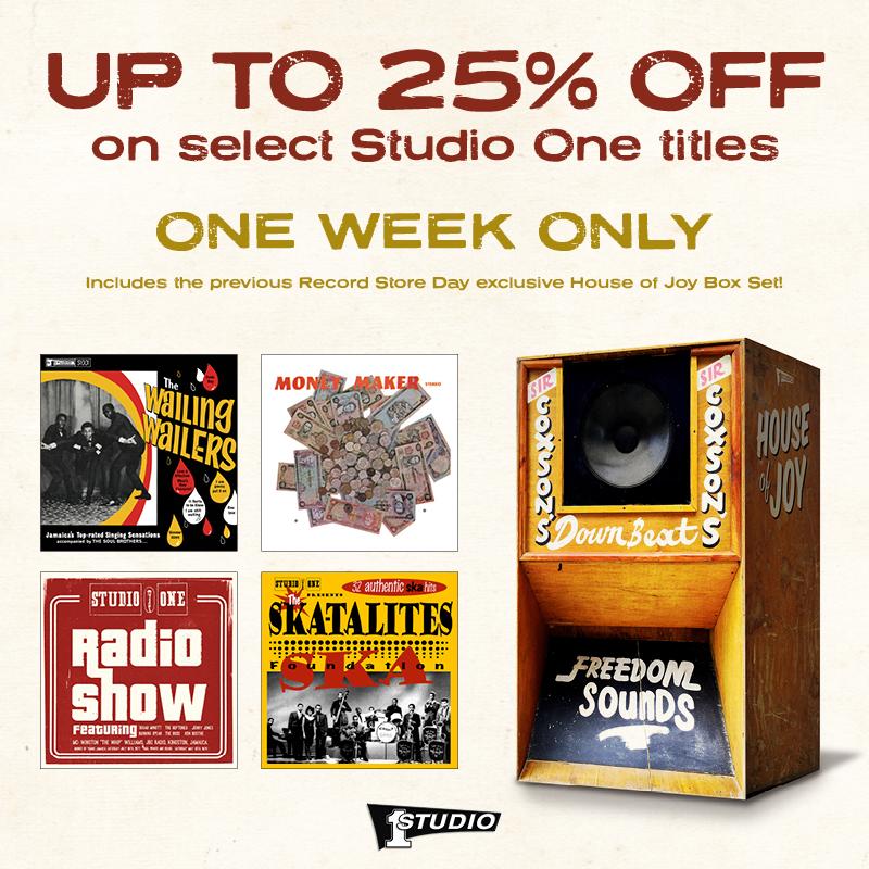 Studio One Sale