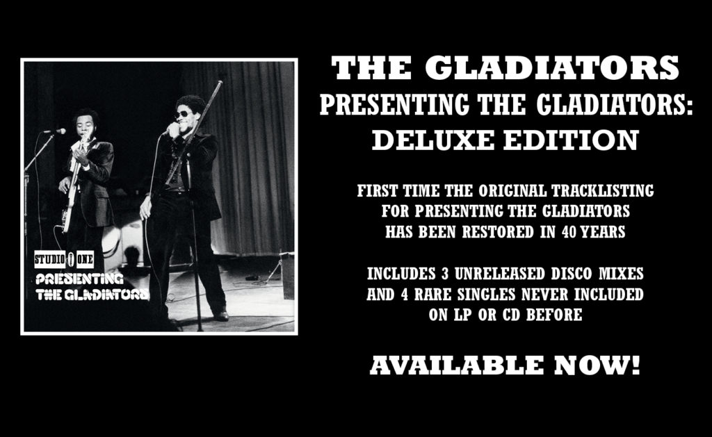 Presenting the Gladiators: Deluxe Edition